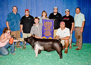 Genetic Edge | Showpigs - Champions